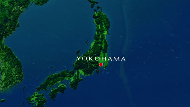 yokohama zoom in - yokohama stock videos and b-roll footage