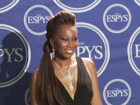 Yolanda Adams at the 2006 ESPY Awards Press Room at Kodak Theater in Hollywood California