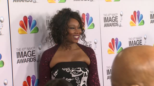 Yolanda Adams at The 43rd NAACP Image Awards Arrivals on 2/17/12 in Los Angeles CA