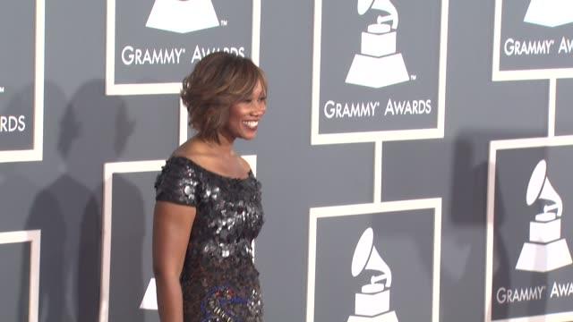 Yolanda Adams at the 53rd GRAMMY Awards Arrivals at Los Angeles CA