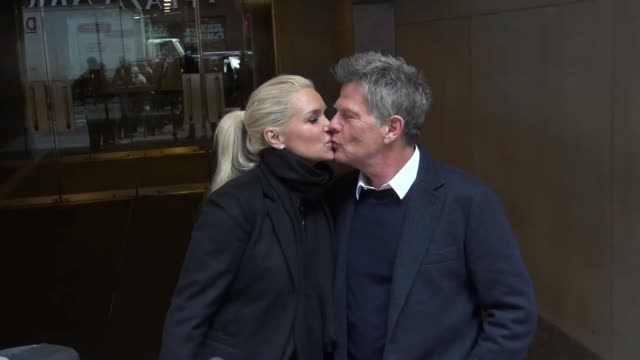 Yolanda Hadid and David Foster at the 'TODAY' show studio Yolanda Hadid and David Foster at the 'TODAY' show on January 29 2013 in New York New York