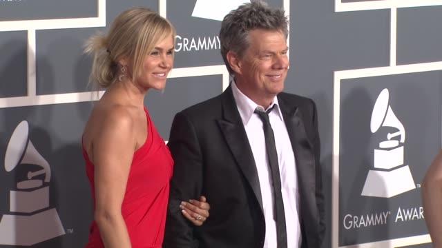 Yolanda Hadid David Foster at the 53rd GRAMMY Awards Arrivals Part 3 at Los Angeles CA