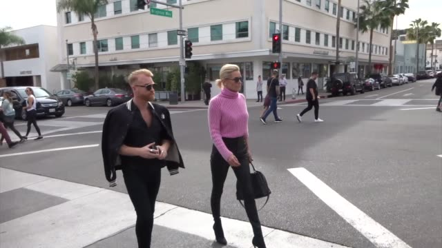 Yolanda Hadid heads to lunch in Beverly Hills in Celebrity Sightings in Los Angeles