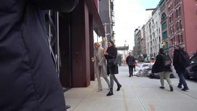 Yolanda Hadid is seen in NoHo on March 06 2018 in New York City