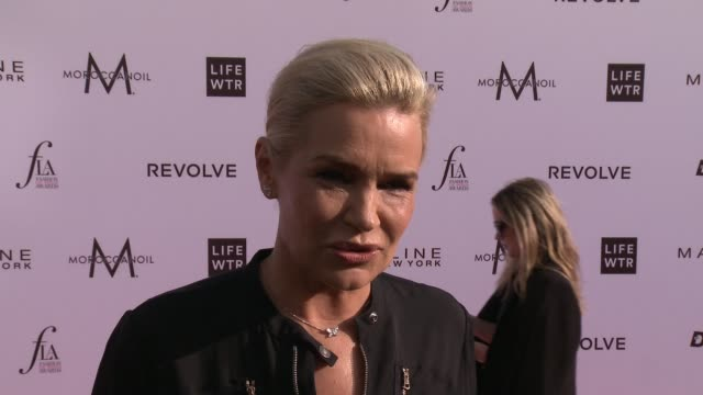 INTERVIEW Yolanda Hadid on how it feels to be honored with Mother of The Year Award tonight On tonight's event at The Daily Front Row Fashion Los...