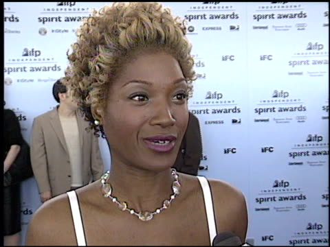 yolonda ross at the 2003 ifp independent spirit awards on march 22 2003 - ifp independent spirit awards stock videos and b-roll footage
