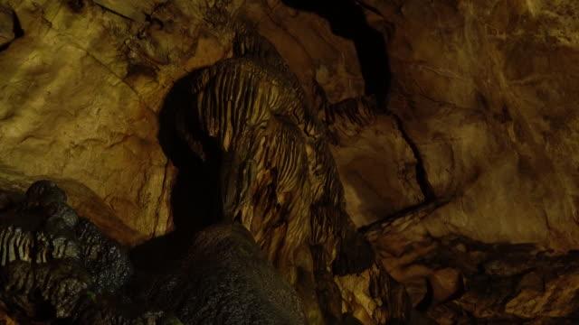 yongyeon limestone cave scenery of taebaek, gangwon province, south korea - prehistoric era stock videos & royalty-free footage