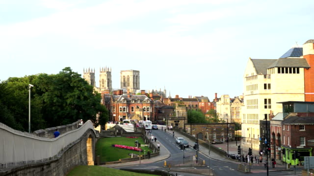 York Minster in the city of York, England