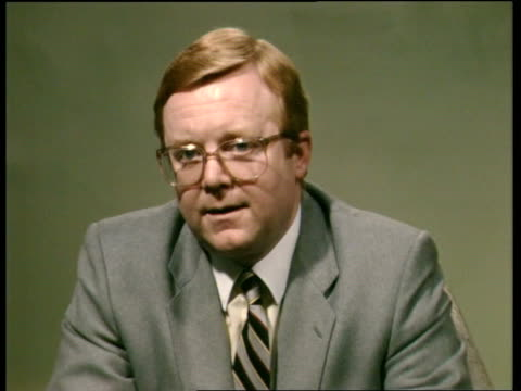 Dr Stephen Shaw interview ENGLAND Yorkshire Leeds SOF Yes I do totally thought so no LIVE YTV/ITN STUDIO 2 WAY TX Archive Tape Cas Two 26666 84/4030...