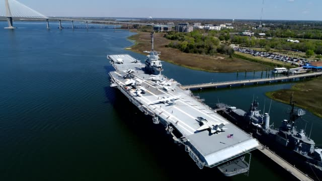 U.S.S. Yorktown in Charleston South Carolina