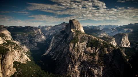 time lapse: yosemite at night - californian sierra nevada stock videos & royalty-free footage