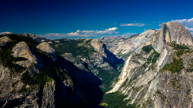 yosemite glacier point - yosemite national park stock videos and b-roll footage