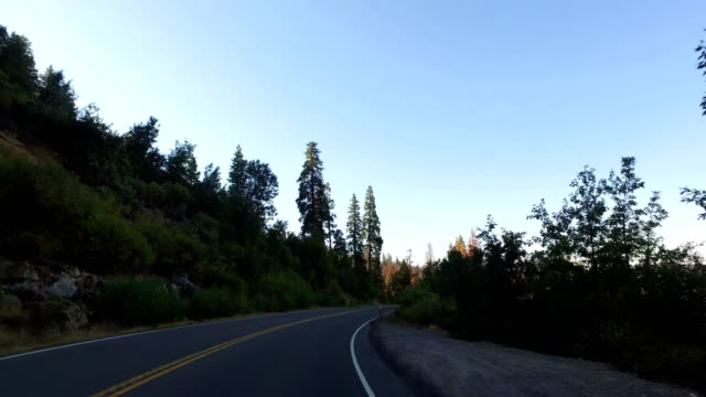 yosemite national park: driving - mariposa county stock videos and b-roll footage