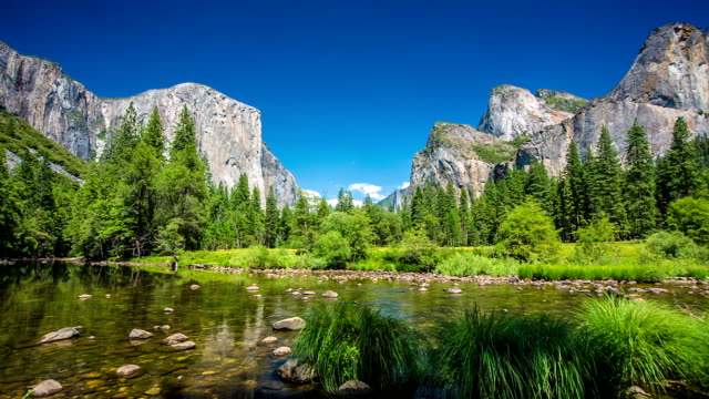 yosemite national park - yosemite nationalpark stock-videos und b-roll-filmmaterial