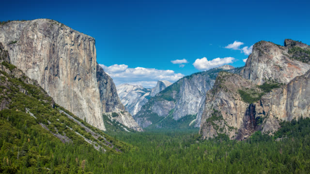 time lapse: yosemite national park - yosemite national park stock videos and b-roll footage