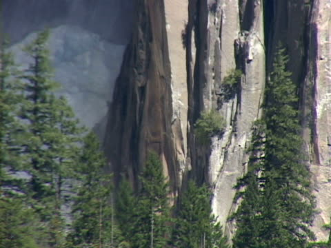 yosemite national park - upper yosemite falls stock videos & royalty-free footage