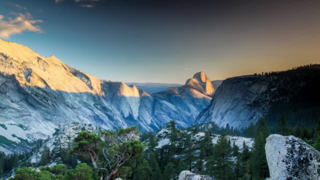yosemite national park - half dome stock videos & royalty-free footage