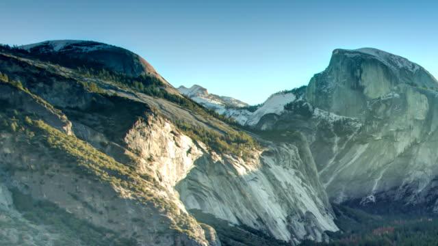 yosemite national park. - half dome stock videos & royalty-free footage