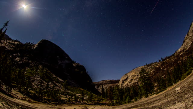 yosemite stars - el capitan yosemite national park stock videos and b-roll footage