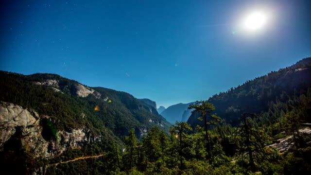 yosemite stars - californian sierra nevada stock videos and b-roll footage