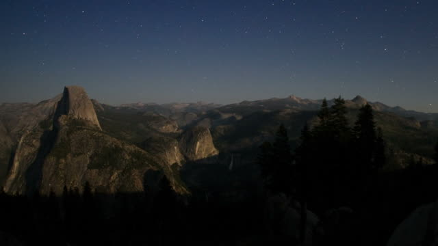 yosemite - timelapse - mariposa county stock videos and b-roll footage