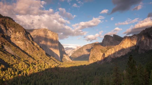 yosemite timelapse - yosemite national park stock videos and b-roll footage