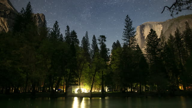 Yosemite Valley at Night