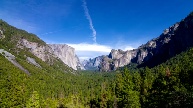 yosemite valley in yosemite national park - mgost stock videos and b-roll footage