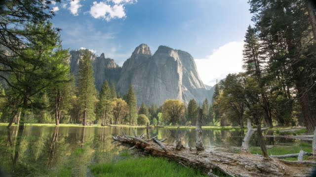 yosemite-valley-nationalpark - yosemite national park stock-videos und b-roll-filmmaterial