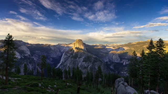 Yosemite Valley Sunset - Time Lapse
