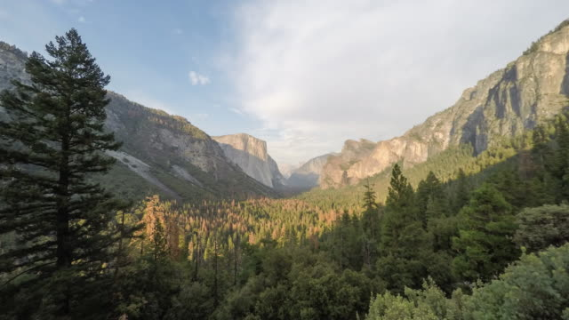 Yosemite Valley Sunset Timelapse
