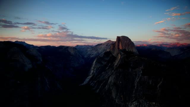 time lapse: yosemite valley - yosemite national park stock videos & royalty-free footage
