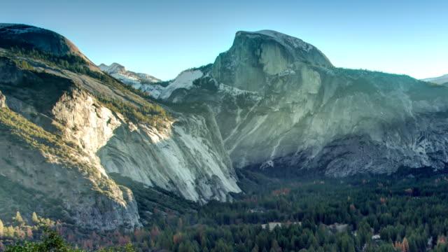 yosemite valley. - half dome stock videos & royalty-free footage