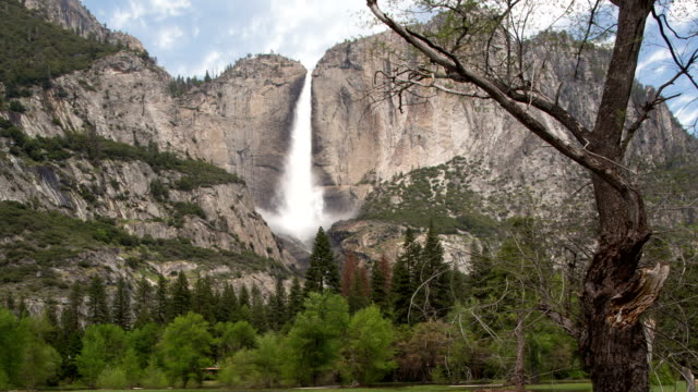 Yosemite Valley with a view towards Yosemite Falls