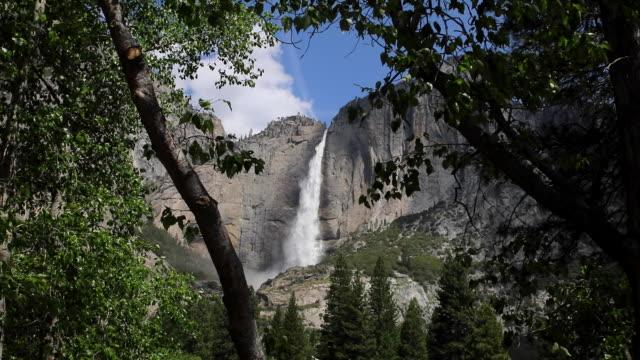 yosemite_waterfall - yosemite nationalpark bildbanksvideor och videomaterial från bakom kulisserna