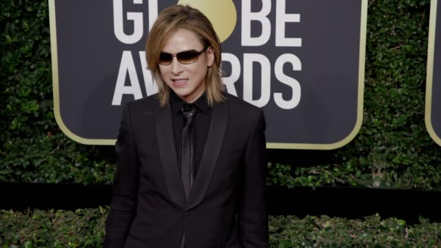 Yoshiki at the 75th Annual Golden Globe Awards at The Beverly Hilton Hotel on January 07 2018 in Beverly Hills California