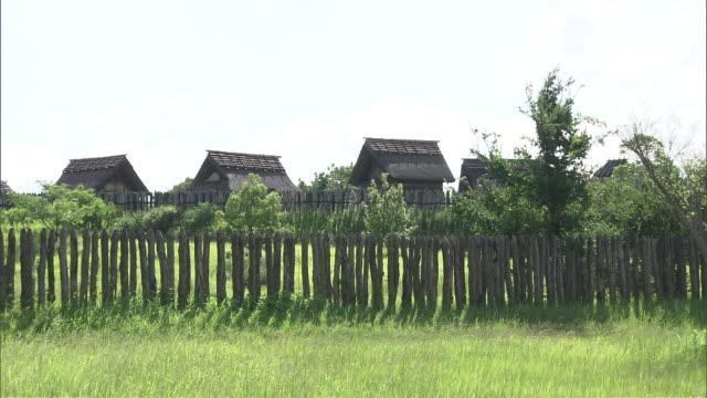 yoshinogari historical park, japan - 3rd century bc stock videos & royalty-free footage