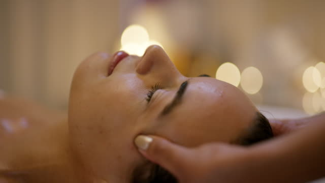 you can never have too many facials - beauty spa stock videos & royalty-free footage