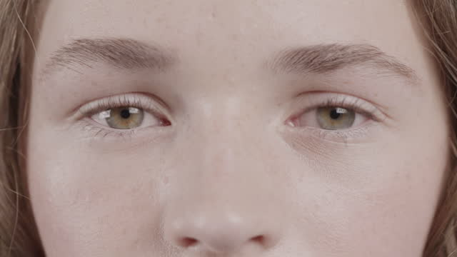 you can tell a lot from a person's eyes - blinking stock videos & royalty-free footage