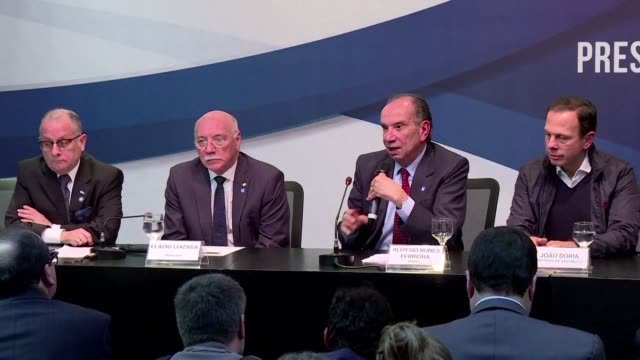 you cannot kill your people you cannot cancel rights says argentine foreign minister jorge faurie as the south american trade bloc mercosur decided... - mercosur stock videos & royalty-free footage