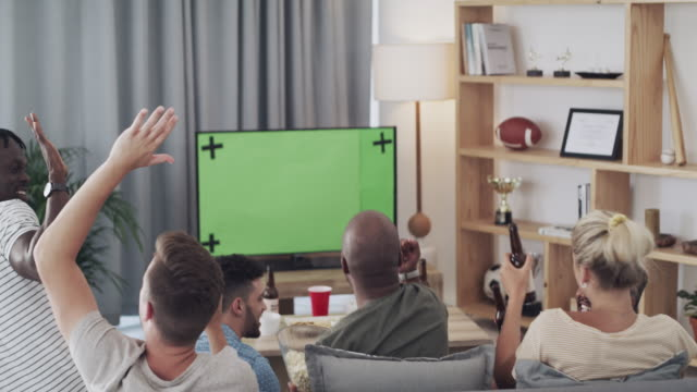 stockvideo's en b-roll-footage met je kon niet vragen om meer ondersteunende fans - juichen