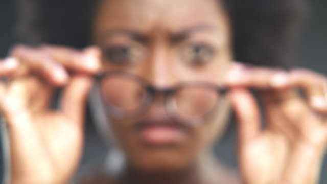 you deserve to have perfect vision - reading glasses stock videos & royalty-free footage