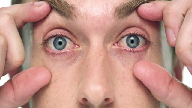 you don't need magic to have great vision - cornea stock videos & royalty-free footage