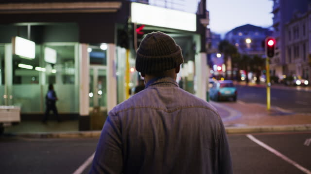 you meet new faces everyday in the city - woolly hat stock videos & royalty-free footage