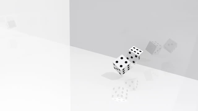 dices rolling - double chance stock videos & royalty-free footage