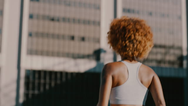 you will conquer this - sports bra stock videos & royalty-free footage