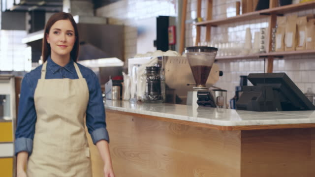 you won't find a better coffee shop around - franchising stock videos & royalty-free footage