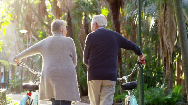 you won't find them indoors on a day like this - senior couple stock videos & royalty-free footage