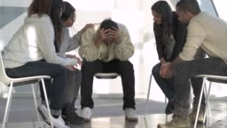 Young Adults in Group Counseling