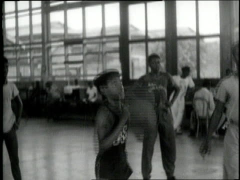 young african americans paint dance and play sports - segregation stock videos & royalty-free footage